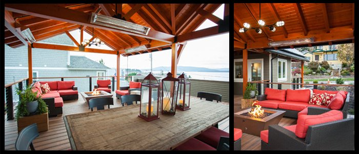 Outdoor Living Made Comfortable with Infratech