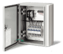 Surface Mounted Solid State Relay Panel for up to 6 Relays