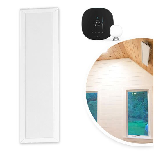 Home Yoga heater package with Ecobee, relay, and transformer
